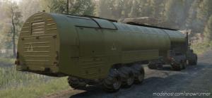 Offroad Heavy Oiltank Semitrailer for SnowRunner