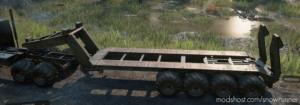 Offroad Semitrailer M747 for SnowRunner
