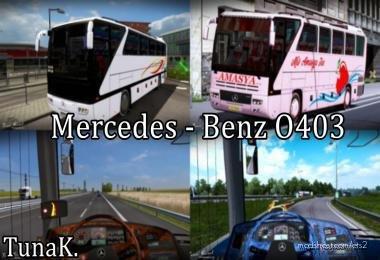 Mercedes Benz O403 for Euro Truck Simulator 2