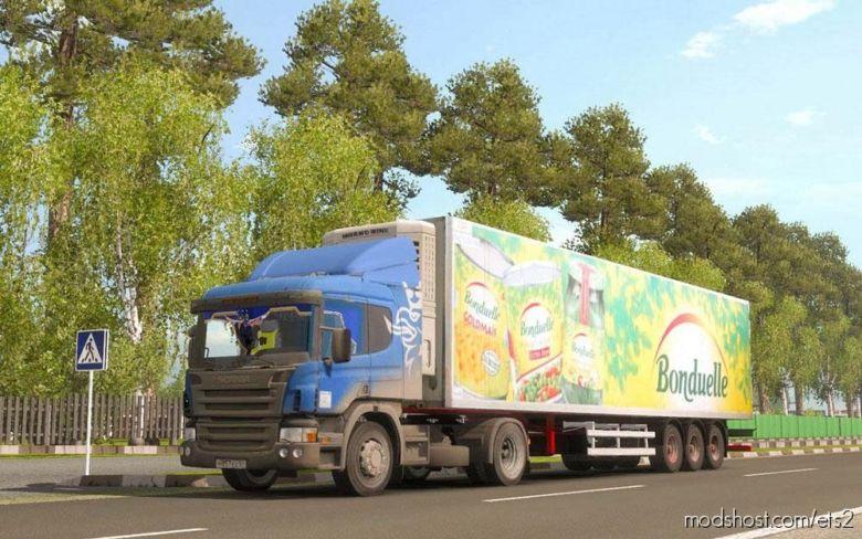 Scania P340 [1.37] for Euro Truck Simulator 2