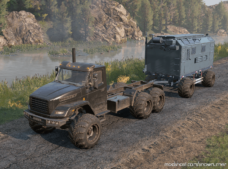Offroad Service Trailer for SnowRunner