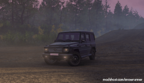 Gelik (Mercedes-Benz G-Klasse) V1.0.3A for SnowRunner