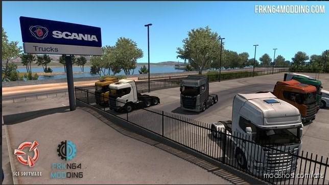 Scania Trucks Mod V3.1 for American Truck Simulator