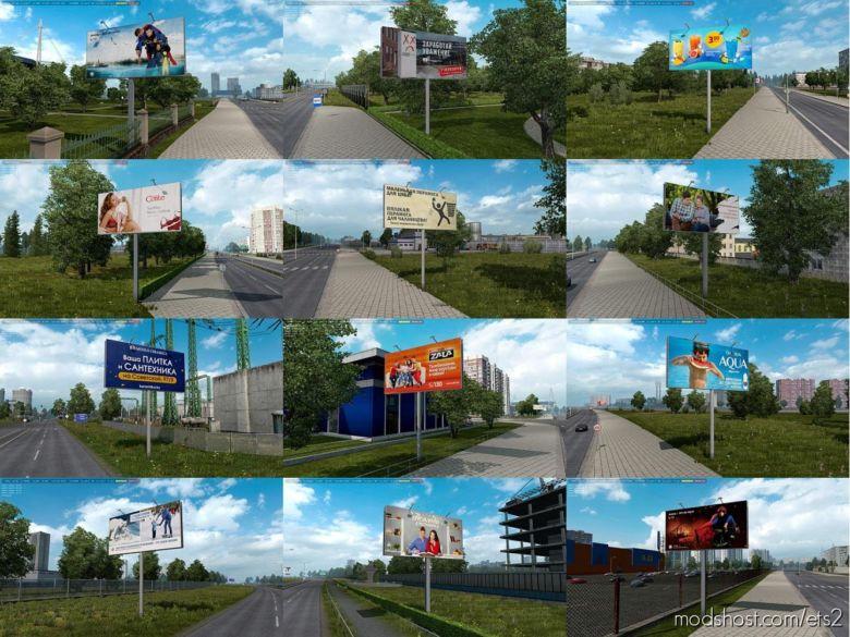 FIX For Rusmap Billboards V2.1 for Euro Truck Simulator 2