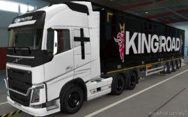Skin Volvo FH16 2012 FE [1.37] for Euro Truck Simulator 2