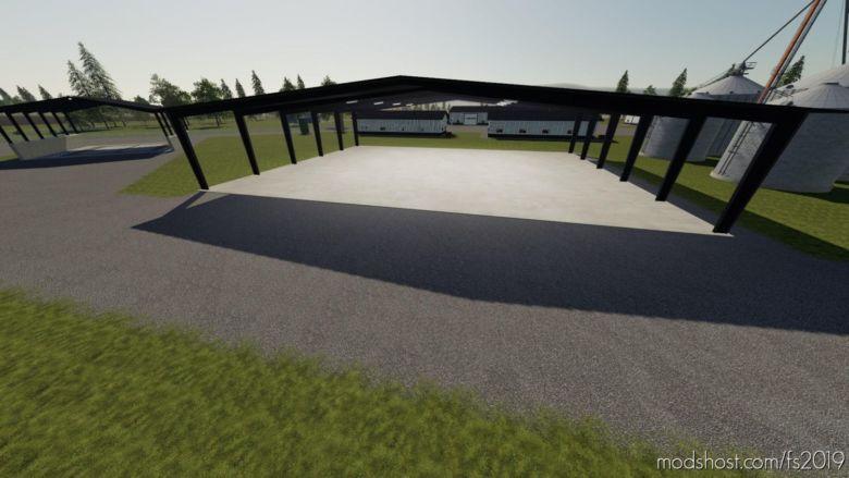 Open Garage Shelter for Farming Simulator 19