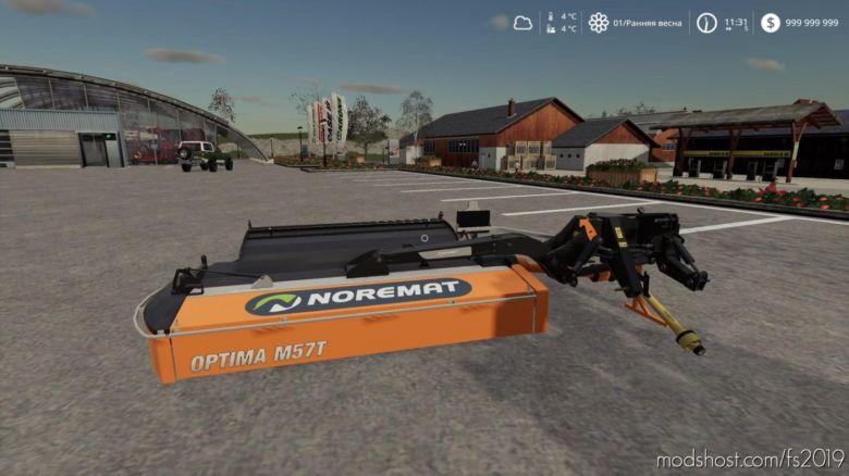 Noremat Optima M57T for Farming Simulator 19