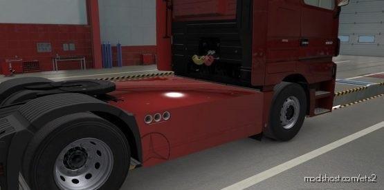 Sideskirts Plate For Mercedes MP3 for Euro Truck Simulator 2