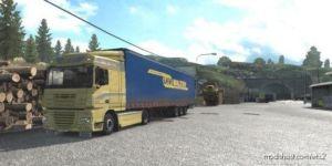 Dirty Skin Pack Krone Profiliner LKW / Nothegger DAF XF 105 [1.37] for Euro Truck Simulator 2