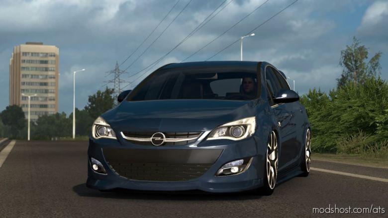 Opel Astra J V1R30 (1.37) for American Truck Simulator