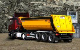 Ownable Oztreyler Damper Trailer [1.37] for Euro Truck Simulator 2