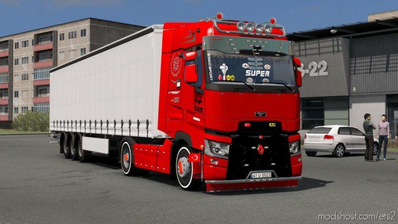 Renault Range T Custom Edit V2 [1.37] for Euro Truck Simulator 2
