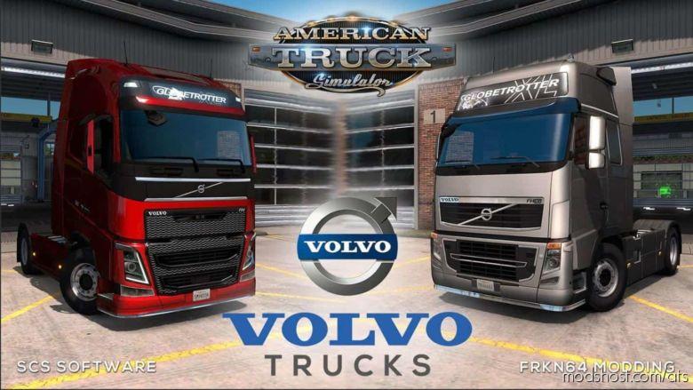 Volvo FH16 Trucks V5.1 for American Truck Simulator