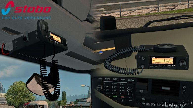 Radio Station Stabo XM 4060E V1.4 for Euro Truck Simulator 2