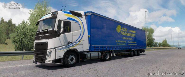 KOS Transporti Skinpack for Euro Truck Simulator 2