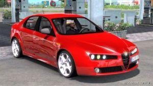 Alfa Romeo 159 V1.1 [1.37.X] for American Truck Simulator