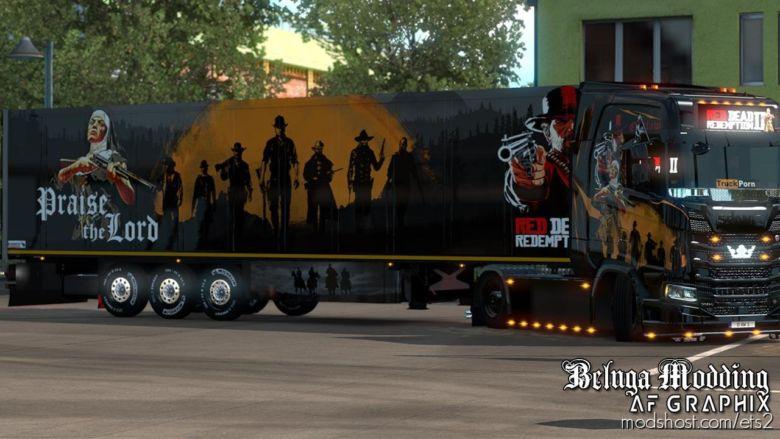 RED Dead Redemption Pack V0.9 for Euro Truck Simulator 2