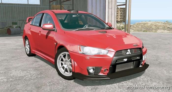 Mitsubishi Lancer Evolution X FQ-400 2009 for BeamNG.drive