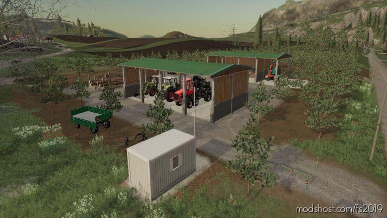 LumberJackCamp for Farming Simulator 19