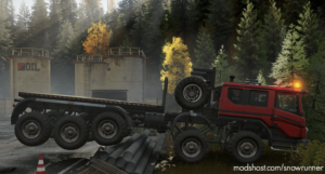 Azov 73210 US Crane (Upgraded) And Suspension Lift V1.1.0 for SnowRunner