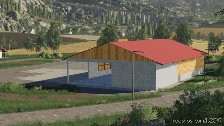 Machine Hall for Farming Simulator 19