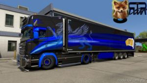 Griffin Combo For Scania RJL And Krone DLC for Euro Truck Simulator 2