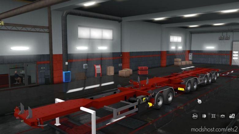 D-Tec Combitrailer [1.37] V1.2 for Euro Truck Simulator 2