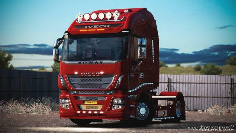 Iveco HI WAY Tuning V1.6 [1.37] for Euro Truck Simulator 2