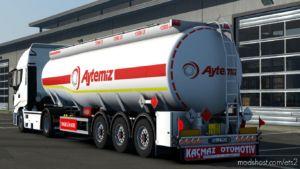 Kassbohrer Tanker Trailer [1.37] for Euro Truck Simulator 2