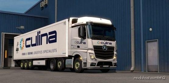 Culina Actros 2014 Skin for Euro Truck Simulator 2