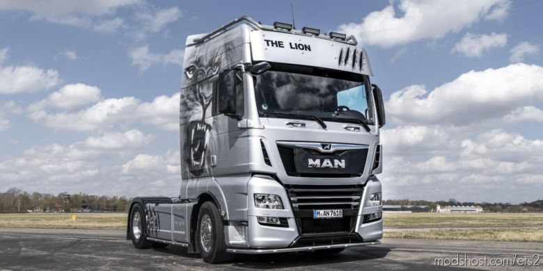 MAN TGX Euro 6 Real D38 Engine Sound V7 [1.37] for Euro Truck Simulator 2