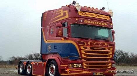 Scania JAN VAN Duijn R560 V8 Sound V13 for Euro Truck Simulator 2