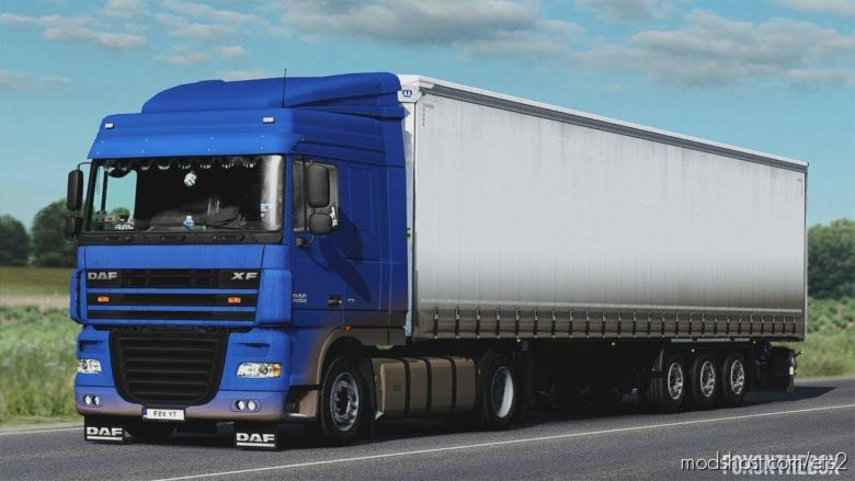 Dirty Skin For DAF XF 105 [1.37] for Euro Truck Simulator 2