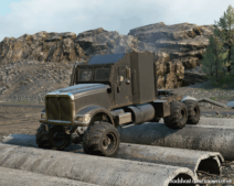 Navistar 5000NV Truck V1.0.1 for SnowRunner