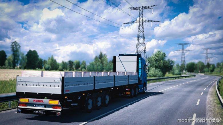 Kogel Trailer Pack [1.37] for Euro Truck Simulator 2