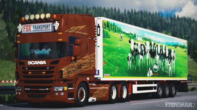 Fruehauf Trailer & Skins [1.37] for Euro Truck Simulator 2