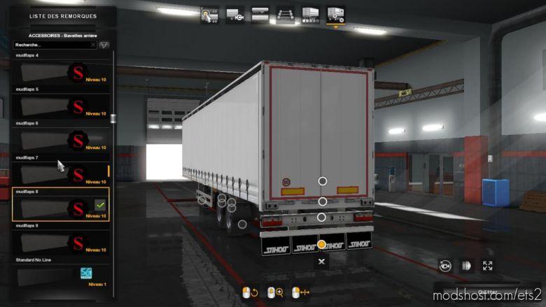 Pack Mudflaps for Euro Truck Simulator 2