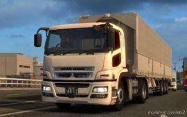 Mitsubishi Fuso Supergreat [1.37] for Euro Truck Simulator 2