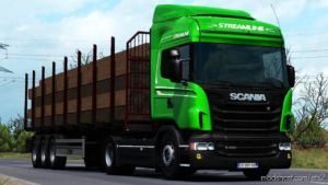 Ownable LOG Trailer Fliegl V1.0.3 [1.37] for Euro Truck Simulator 2