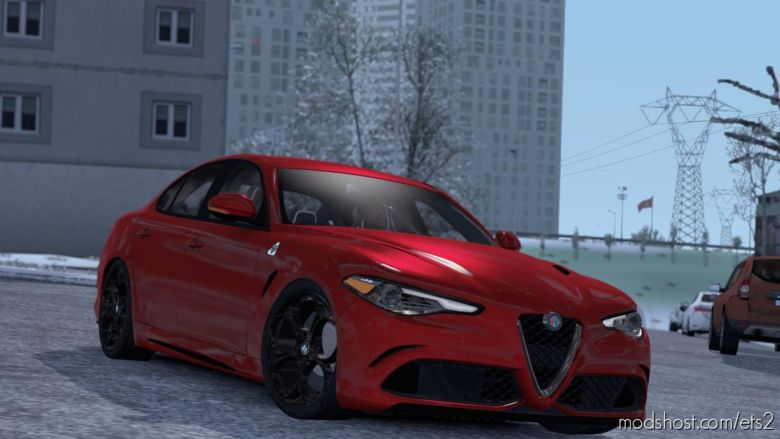 Alfa Romeo Giulia V1R30 [1.37] for Euro Truck Simulator 2