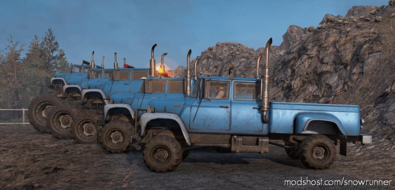 International Loadstar 1700 Monster Truck V1.0.1 for SnowRunner