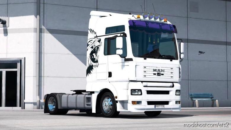 Custom Lion Skinpack for Euro Truck Simulator 2