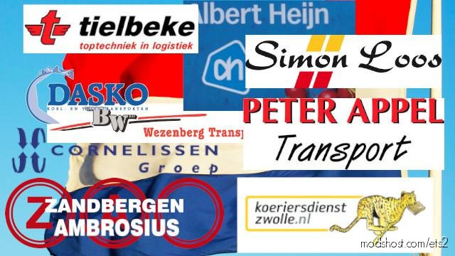 Albert Heijn Transporters Pack for Euro Truck Simulator 2