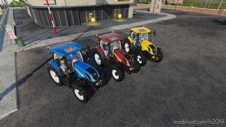 NEW Holland T6 Series for Farming Simulator 19