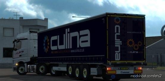 Culina Krone Profiliner Skin for Euro Truck Simulator 2