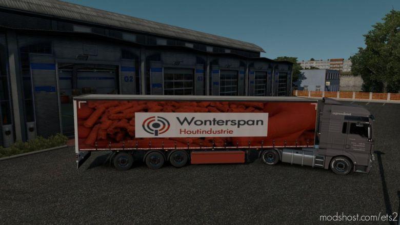 Ownable Trailer Wonterspan for Euro Truck Simulator 2