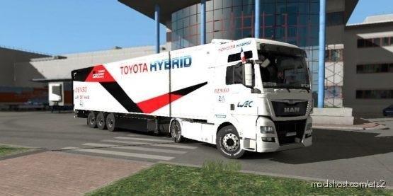 Toyota Gazoo Racing 24H WEC Trailer LE Mans for Euro Truck Simulator 2
