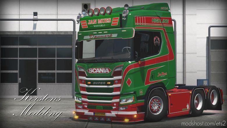 JAN Mues NGS R650 [1.37] for Euro Truck Simulator 2