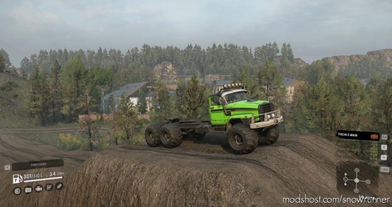 310E King Of Steppes Truck for SnowRunner