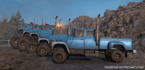 International Loadstar 1700 Monster Truck V1.0.2 for SnowRunner